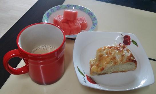 [개인/일상] 맛있는 빵과커피 수박